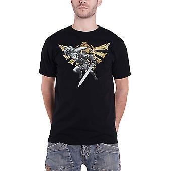 Zelda T Shirt Hyrule Link Logo neue offizielle Herren Schwarz