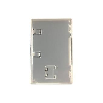 Replacement game case for nintendo switch - compatible retail game cartridge box - 2 pack clear