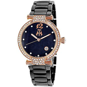 Jivago Women's Bijoux Black MOP Dial Watch - JV2215