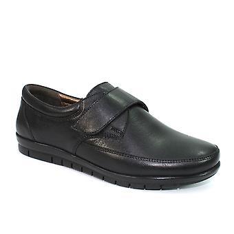 Lunar Petra läder Touch fäst sko