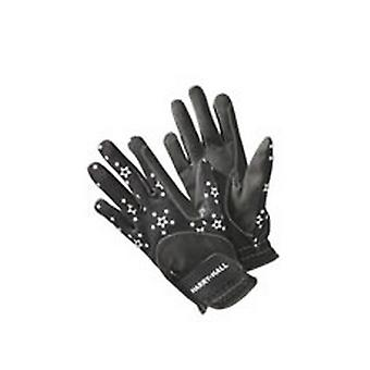 Harry Hall Junior Reflective Roxby Riding Gloves