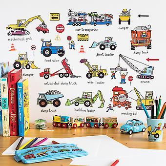 Tyrrell Katz Trucks Wall Stickers