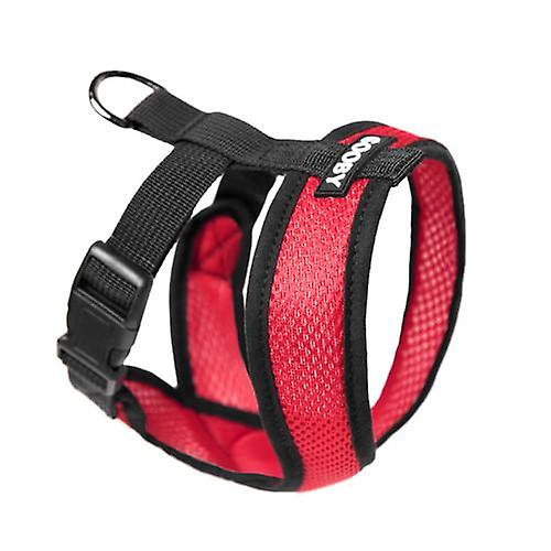 Gooby Comfort X Dog Harness Red - Extra Large