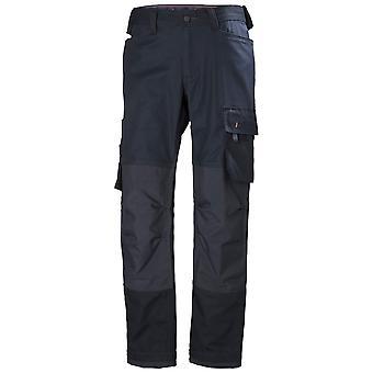 Helly Hansen Mens Oxford Cotton Workwear Work Trousers