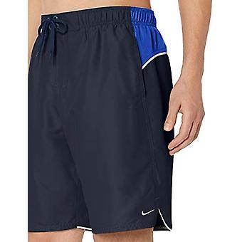 "Nike simma män ' s färg Surge 9 ""volley kort simma trunk, Obsidian, stora"