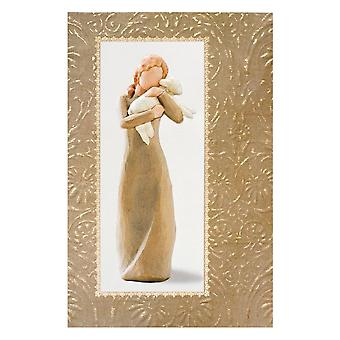 Willow Tree Peace On Earth Christmas Card With Message