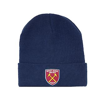 West Ham United FC Unisex Cuff Knitted Hat