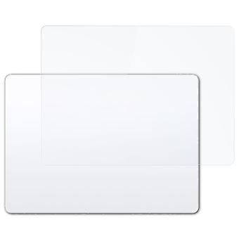 atFoliX Glass Protector compatibel met Apple Magic Trackpad 2 Glas beschermende film 9H Hybrid-Glass