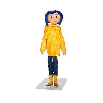 """Coraline 7"""" in Raincoat Action Figure"""