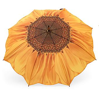 Umbrella stick umbrella motif sunflower