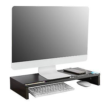 SoBuy Écran d'écran Monitor Stand Monitor Riser Desk Organisateur,BBF05-N