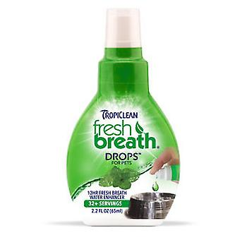 TropiClean Fresh Breath Gotas contra el Mal Aliento 65 ml