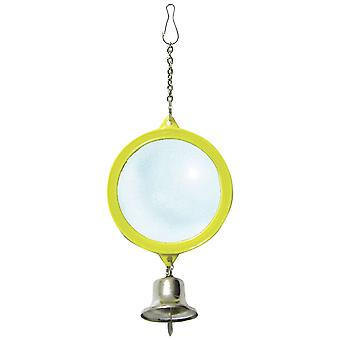 Ica Double Mirror with Bell and Chain (Birds , Toys)