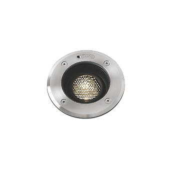 Faro Geiser - Outdoor LED Recessed Ground Light Tiltable 7W 3000K 38deg. IP67 - FARO70303