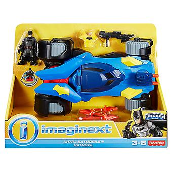 Imaginext DHT64 Batmobile Batman Car with Dart Launcher