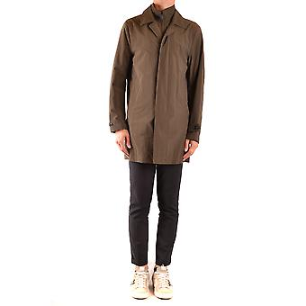 Fay Ezbc035072 Men's Bege Nylon Trench Coat