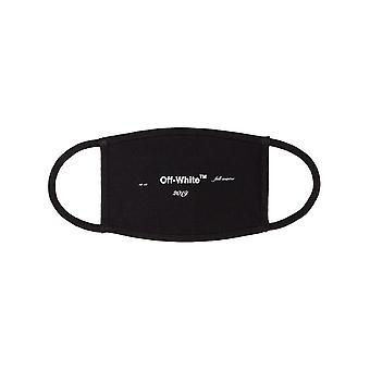 Off-white Omrg001f181850191001 Men's Black Cotton Eye Mask