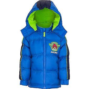 Мальчики разгневанных птиц Зимняя куртка с капюшоном HO1222