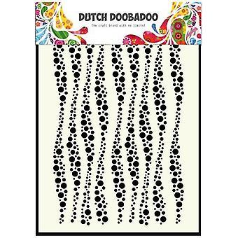 Dutch Doobadoo Dutch Mask Art stencil wavy stripes A5 470.715.037