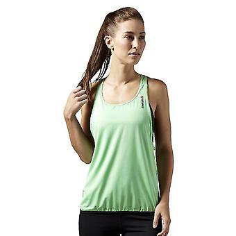 Reebok OS Lang BH Topp AI1642 kjører sommer kvinner t-skjorte