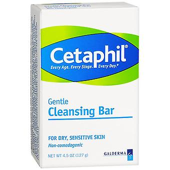 Cetaphil gentle cleansing bar, 4.5 oz