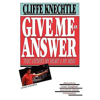 Give Me an Answer by Knechtle & Cliffe