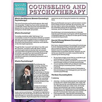 Counseling And Psychotherapy Speedy Study Guides by Publishing LLC & Speedy