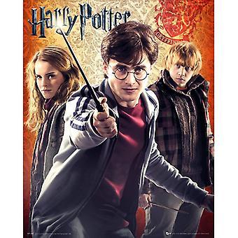 Harry Potter 7 Trio Mini Pôster