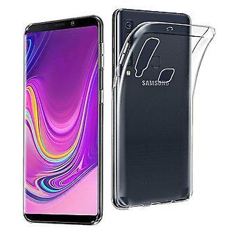 FONU Siliconen Backcase Hoesje Samsung Galaxy A9 (2018) - Transparant