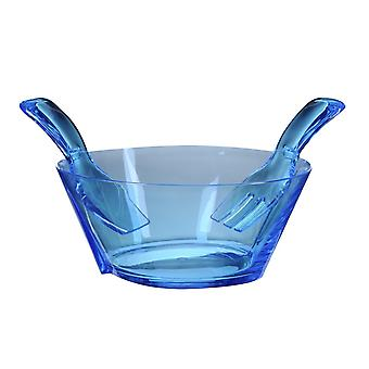 Mario Luca Giusti Fulmine Turquoise Plastic Salad Bowl with Serving