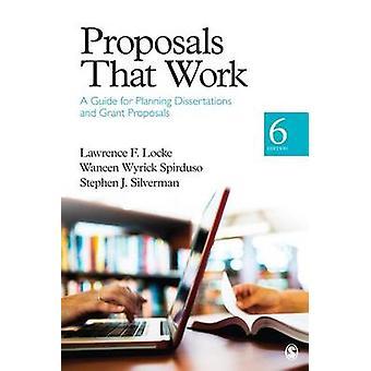 Vorschläge, die funktionieren - Ein Leitfaden für die Planung von Dissertationen und Stipendien Pro