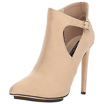 Michael Antonio Womens Luxx Fabric Almond Toe Ankle Fashion Boots