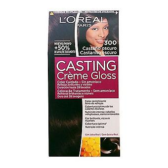 Dye No Ammonia Casting Creme Gloss L'Oreal Make Up Dark brown