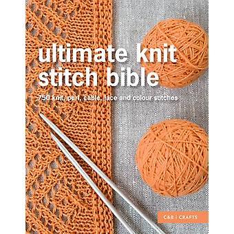 Endelig strikk masken Bibelen - 750 strikk - vrang - kabel - blonder og farge