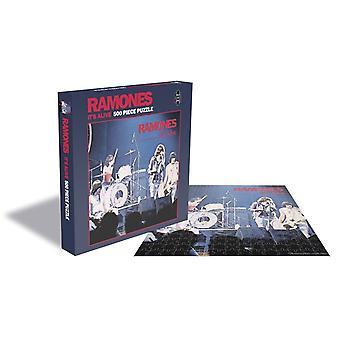 Felssägen - Ramones - it's alive - 500 Stück Puzzle