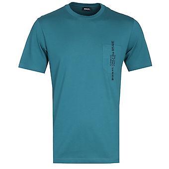 Diesel T-Just Pocket Sacramento Green T-Shirt