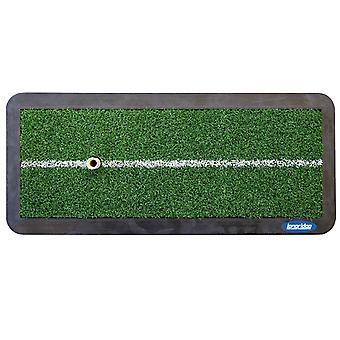 Longridge Heavy Duty Golf Chipping and Driving Practice Mat & Tee