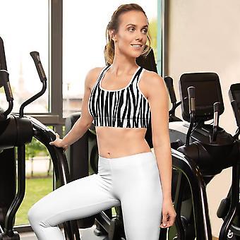 Sports Bra | Zebra print