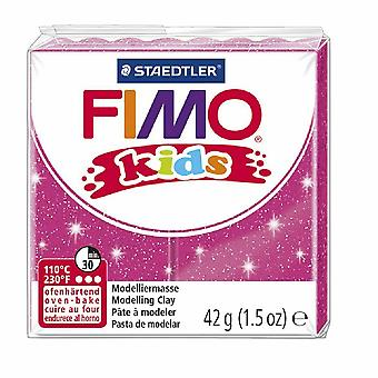 Fimo Modelling Clay 42g Glitter Pink