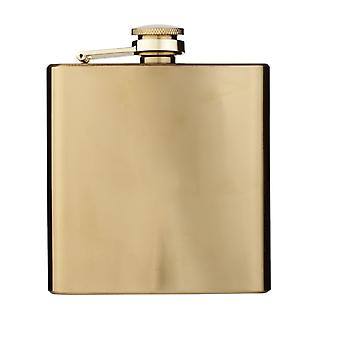 Bullet Elixer 175ml Gold Hip Flask