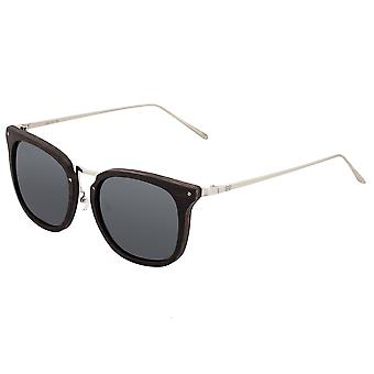 Earth Wood Nosara Polarized Sunglasses - Ebony/Black