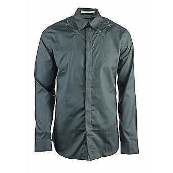 Givenchy BM601C1Y39 001 Mens Black Shirt