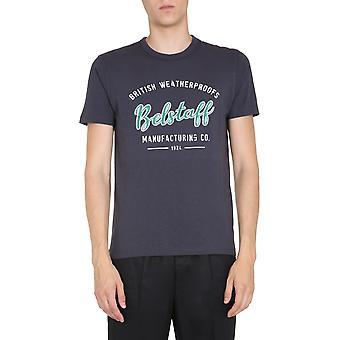 Belstaff 71140294j61a014190103 Men's Black Cotton T-shirt