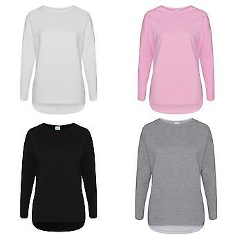 Comfy Co Womens/Ladies Gals Oversized Sweatshirt
