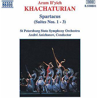 R. Khachaturian - Khachaturian: Spartacus (Suites nos 1-3) importação EUA [CD]