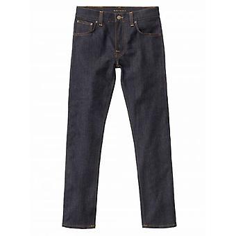 Nudie Jeans Grim Tim Dry Navy Jean