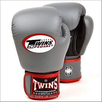Twins special air boxing gloves - grey black