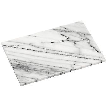 Vit marmor liten skärbräda