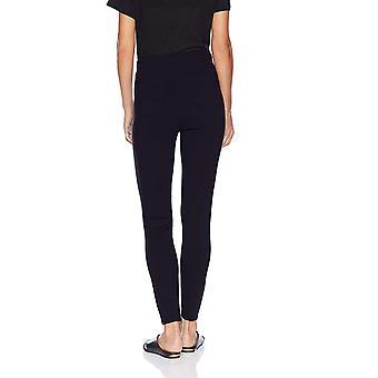Daily Ritual Women's Faux 5-Pocket Ponte Knit Legging, Navy, Medium Regular