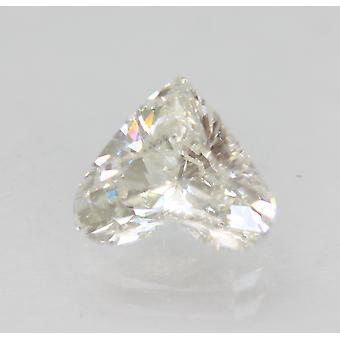 معتمد 1.08 قيراط F اللون VS1 القلب المحسن الطبيعية فضفاضة الماس 7.45x6.56m